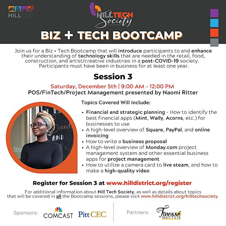 BIZ + Tech Bootcamp: POS/FinTech/Project Management image