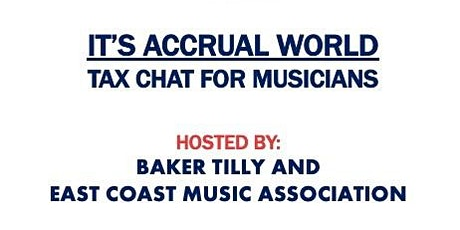 It's Accural World: Tax Chat for Musicians tickets
