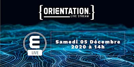 Live Stream Orientation - Programme Grande Ecole tickets