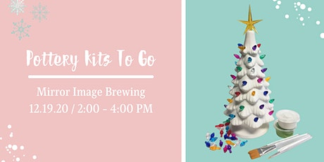 Pottery Painting Kits To Go at Mirror Image Brewing tickets