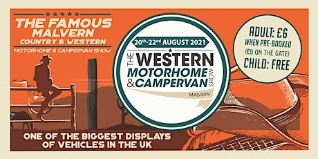 The Western Motorhome & Campervan Show tickets