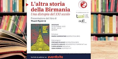 """Presentazione libro """"L'altra storia della Birmania"""" di Thant Myint-U biglietti"""