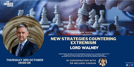 New strategic approaches countering violent extremism tickets