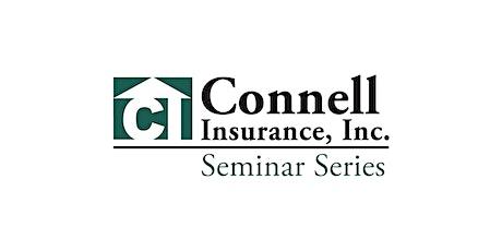 Connell's 2021 Summer Seminar tickets