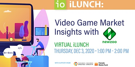 iLunch - Video Game Market Insights with Newzoo tickets