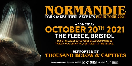 Normandie / Thousand Below / Captives tickets