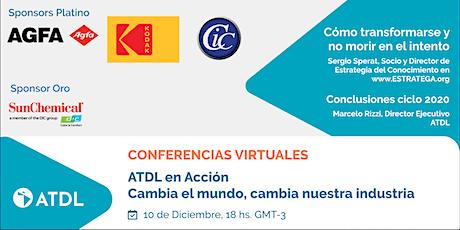 Conferencias Virtuales: ATDL en acción. entradas