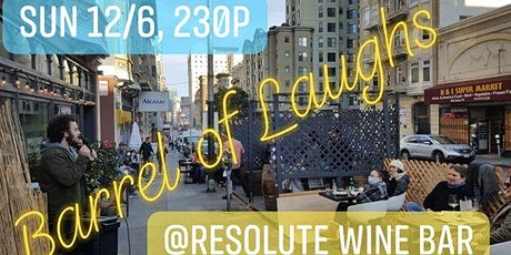 Barrel of Laughs at Resolute tickets