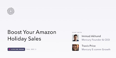 A Very Mercury Holiday: Boost Your Amazon Holiday Sales tickets