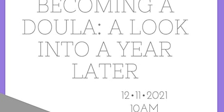 Becoming a Doula Workshop tickets