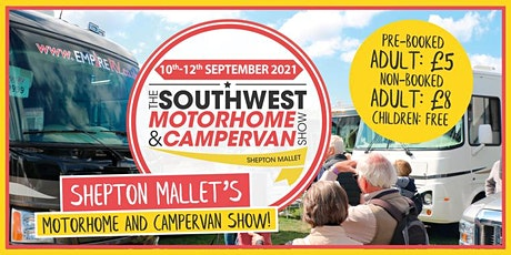 The South West Motorhome & Campervan Show tickets