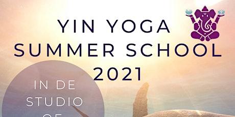 Yin Yoga opleiding (50h YA) Basis tickets