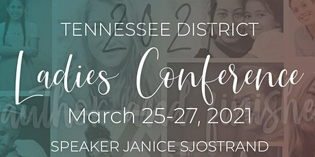 TN District UPCI Ladies Conference 2021 tickets