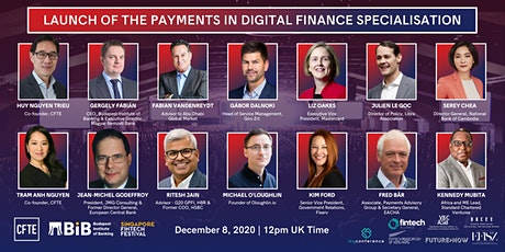 Official Launch of the Payments in Digital Finance Specialisation tickets
