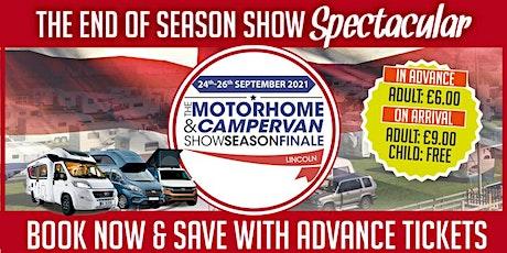 The Motorhome & Campervan Show Season Finale tickets