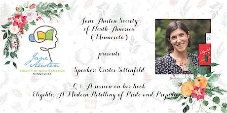 Curtis Sittenfeld and Jane Austen's Birthday Celebration tickets