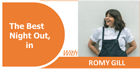 ROMY GILL  -How to create the perfect recipe while cooking. tickets