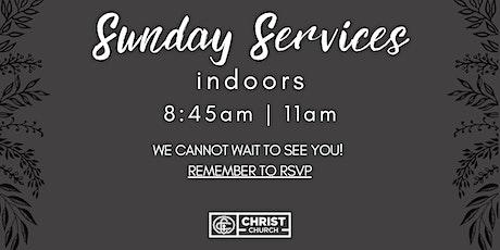 RSVP December 6th @ 8:45AM  -Christ Church Sunday Worship Service tickets