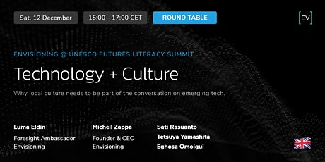Round Table   Technology + Culture tickets