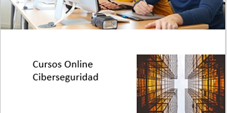 Curso Online Ciberseguridad boletos