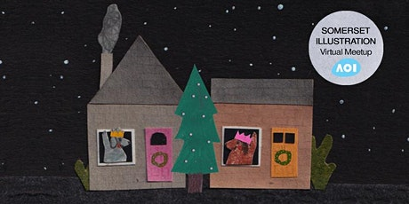 Christmas drink and draw: Somerset Illustration Meetup tickets