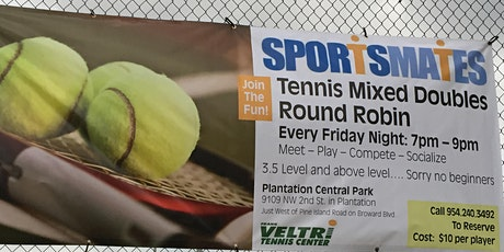 Saturday Weston Mixed Doubles Tennis 3.5 Level and Above tickets