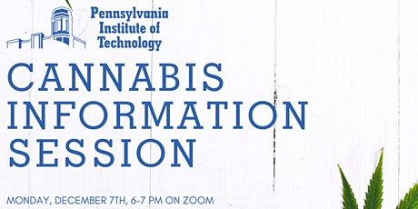 Cannabis  Degree Information Session tickets