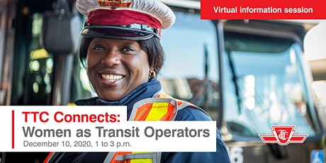 TTC Connects: Women as Transit Operators Information Session Tickets