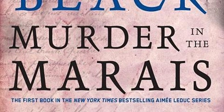 """""""Murder in the Marais"""" Mysteries to Die For Zoom Book Club tickets"""
