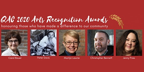 Quinte Arts Council's 26th Annual Arts Recognition Awards tickets