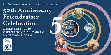 50TH ANNIVERSARY FRIENDRAISER CELEBRATION! tickets