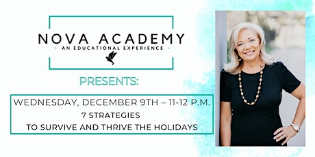 7 Strategies to Survive & Thrive the Holidays tickets