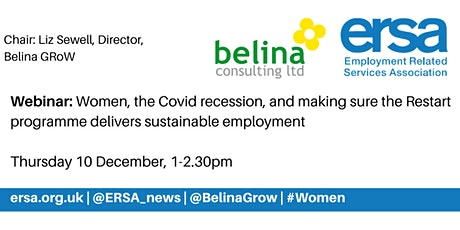 Women, covid, and  delivering sustainable employment through Restart tickets