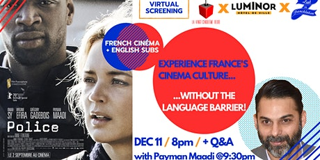 Lost in Frenchlation virtual screening #3: « Police » tickets