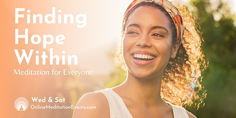 Free Online Meditation Events: Finding Hope Within tickets