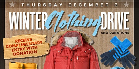 Winter Clothing Drive and Donation at Tongue and Groove with DJ Danny M tickets
