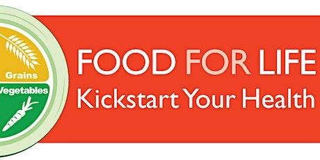 DC Food For Life-KickStart Your Health (Online Vegan Cooking Class) tickets