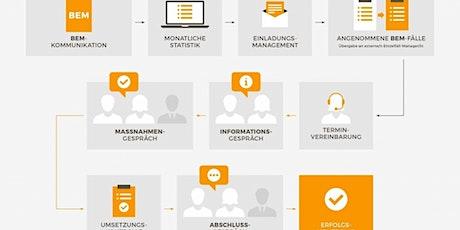 Webinar 2: Der BEM-Prozess – Eingliederungsmanagement strukturiert umsetzen Tickets