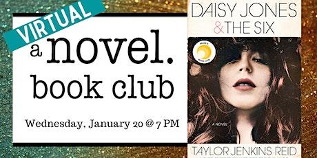 A Novel Book Club: Daisy Jones & The Six tickets