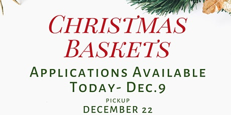 Christmas Basket Assistance  Request Application 2020 tickets