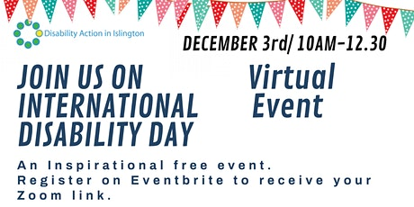 Islington International Disability Day tickets
