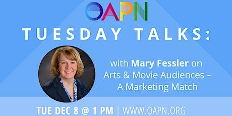 Tuesday Talks: Arts & Movie Audiences – A Marketing Match tickets