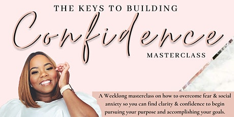 The Keys to Building Confidence tickets