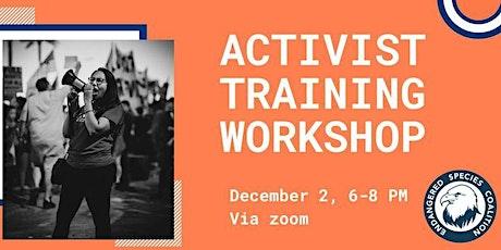 ONLINE: New Mexico Advocacy Training Workshop 12/2/20 tickets