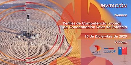 Webinar Perfiles de Competencia CSP billets