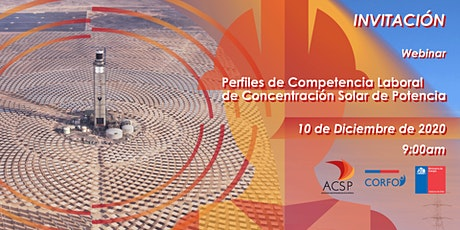 Webinar Perfiles de Competencia CSP entradas