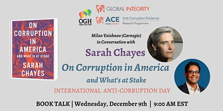 """Book Discussion: Sarah Chayes """"On Corruption in America"""" tickets"""