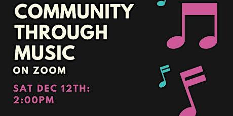 Community Through Music tickets