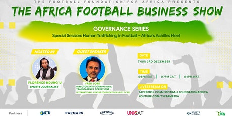 Special Session - Human  Trafficking in Football - Africa's Achilles Heel tickets