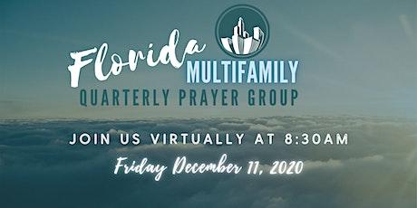 Florida Multifamily Quarterly Prayer Call tickets